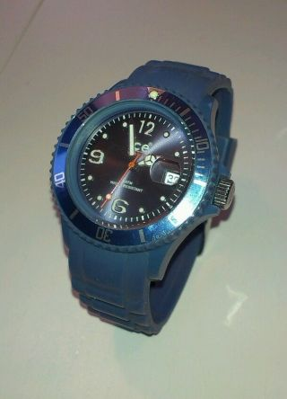 Ice Watch Jeansblau Seltene Farbe Medium Bild