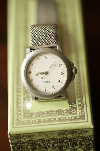Damenuhr,  Armbanduhr,  Esprit,  Silber,  Uhr,  Sportlich,  Klassisch,  Business,  Freizeit Bild