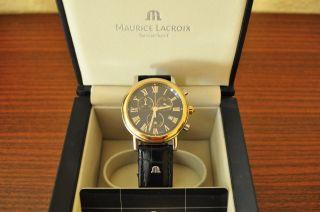 Maurice Lacroix Uhr Classsics Chronograph Lc 1048 Bild