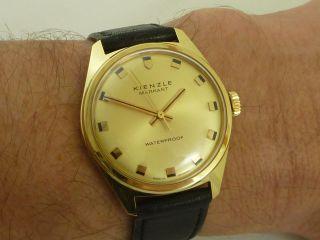 Schöne Kienzle Markant Herren Armbanduhr Bild