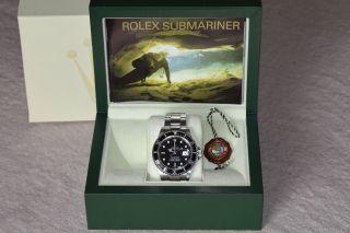 Rolex Submariner Date Stahl Armbanduhr 16610 Gekauft 2007 Mit Allen Papieren Bild