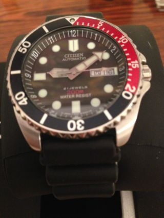 Citizen - Automatic 21 Jewels 200 M Pepsi Bild