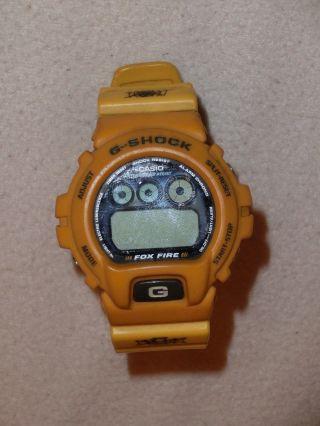 Casio,  G - Shock,  Gelb,  Batterie Leer Bild