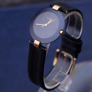 Klassisch Elegante Sehr Schöne Schwarze Orig.  Rado Diastar Armbanduhr Saphirglas Bild