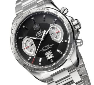 Tag Heuer Grand Carrera Chronograph Herrenuhr Cav511e.  Ba0902 Ovp Men ' S Watch Bild