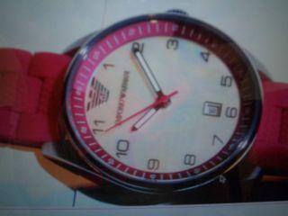 Emporio Armani Damenuhr Pink Rosa Ar 5880 Uhr Und 100 Bild