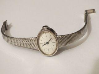 Traumschöne Antike Cito Swiss Massiv Silber 835 Damenuhr Handaufzug 17 Steine Bild