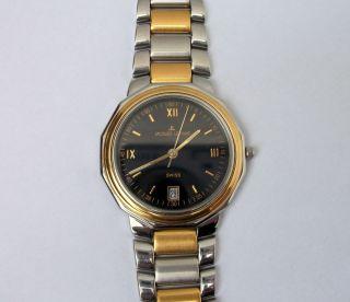Jacques Lemans 30 M Wasserdicht Herrenuhr Armbanduhr Uhr Sammleruhr Bild