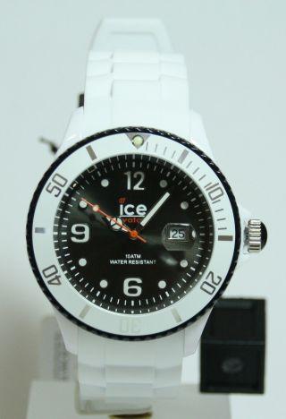 Ice Watch Si.  Wk.  B.  S.  11 Ice White White Black Big Uvp:89,  00€ Bild