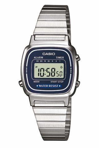 Casio La670wea - 2ef Uhr (silver) Bild