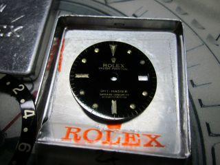 Zifferblatt Nippel Dial Für Rolex Gmt St.  / Gold 16703 U.  Lünetteneinlage Inlay Bild