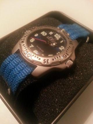 S.  Oliver Kinderuhr Blaues Armband Bild