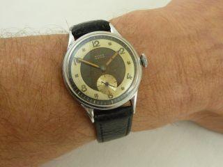 Anker 15 Rubis Dienstuhr Militär Watch 2wk (ww2) Bild