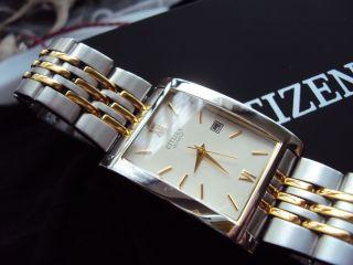 Citizen 1012 - S020824 Uhr Edelstahl Bicolor Gold Silber Quarz Herren Bild