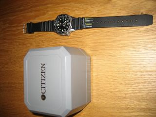 Citizen Promaster Automatik Divers Water Resist 200m Bild