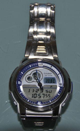 Armbanduhr Casio 4738 Für Herren,  Herrenarmbanduhr Bild