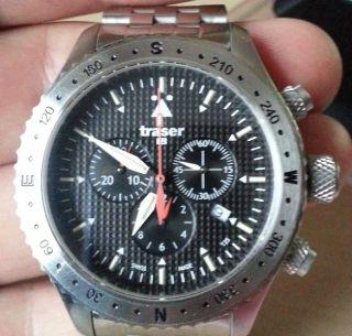 Fliegeruhr Aviator Jungmann - Traser H3 Quarz - Armbanduhr Für Herren Bild