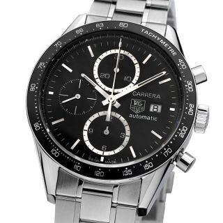 Tag Heuer Carrera Herrenuhr Automatik Chronograph Cv2010.  Ba0794 Men ' S Watch Bild