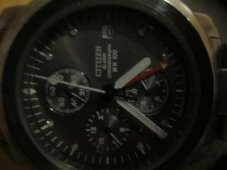 Citizen Wr100 Chronaograph Bild