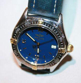 Breitling Callisto Stahl/gold Damen Uhr 35 Mm Bild