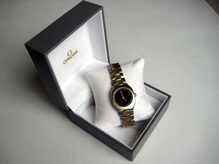 Omega Seamaster Armbanduhr Chronometer,  Edelstahl Mit Goldintarsien,  Ovp Bild