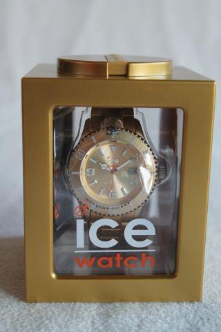 Ice Watch Ice - Alu - Gold - Unisex Armbanduhr (al.  Gd.  U.  A.  12) Bild