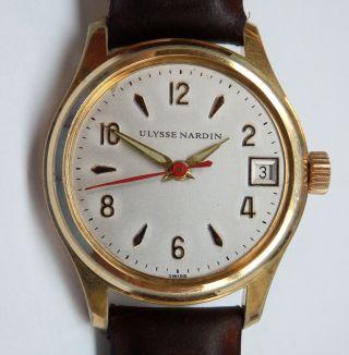 Ulysse Nardin Chronometer Kalieber 495ss.  Gute. Bild
