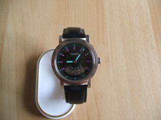 Uhrsammlung An Bastler Alte Tissot D380 Quartz Herrenuhr Bild