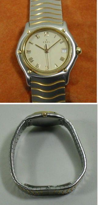 Ebel Sport Classic Stahl / Gelbgold Damen Armbanduhr Ca.  28mm Bild