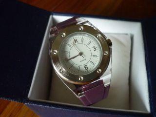 Damen - Armbanduhr Von Pierre Lannier,  Mit Ovp,  Lila Armband Bild