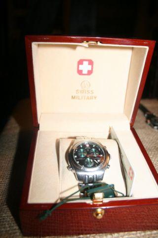 Swiss Military 9316 Armbanduhr Alarm Cronograph Bild