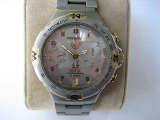 Poljot 3133 Foxhound Mig 31 Titan Fliegerchronograph Handaufzug Chronograph Uhr Bild