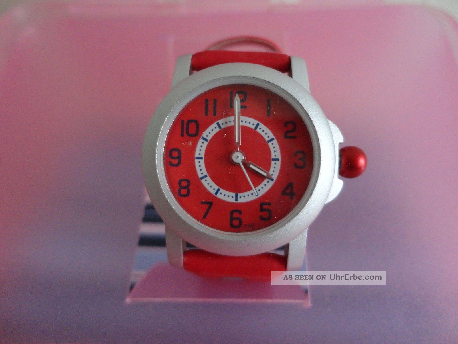 Armbanduhr kinder esprit  Armbanduhr Esprit Kind Rot Mädchen Oder Junge Mit Ovp Und Beilage