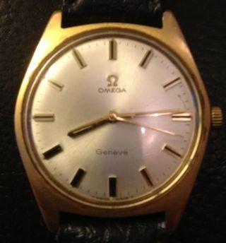Omega Armbanduhr Automatik Herrenarmbanduhr Geneve Bild