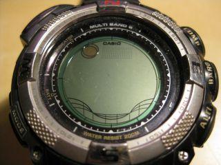 Casio Pro Trek Prw - 1500 - 1ver Armbanduhr Für Unisex Batterie Leer Bild