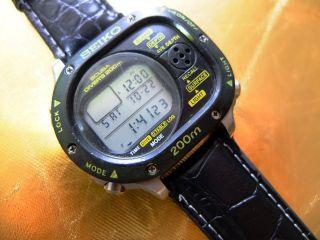 Seiko Scubamaster M726 - 5a00 200m Diver Sehr Rar Bild