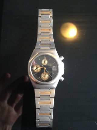 Mega Rare Tag Heuer In Full Titanium All Band,  Buckle & Crown For Mens Bild
