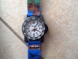Scout,  Jungen,  Armbanduhr,  Uhr,  Dino,  Textil,  & Ovp Bild
