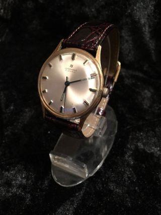 Junghans Armbanduhr - Leder Uhr - Handaufzug - Braun Bild