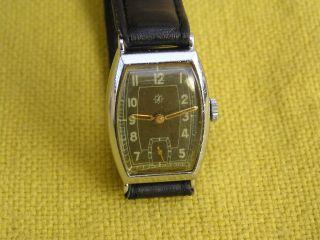 Junghans Herren Armbanduhr,  Manufaktur - Kaliber 97,  Dienstuhr (jahrgang 40 - 45) Bild
