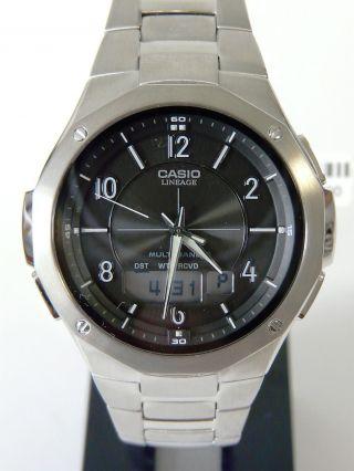 Casio Lineage Lcw - M160d - 1a2er Armbanduhr Funk Tough Solar,  Ovp Bild