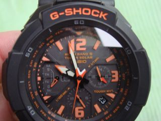 Casio G - Shock Radio Controlled 6 Band Tough Solar Watch Funkuhr Solaruhr Mod5121 Bild
