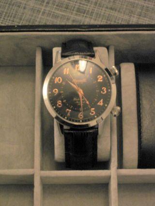 Ingersoll Washington Mechanischer Alarm Limited Edition In4401 Herrenuhr Bild