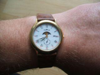 Defekte Uhrsammlung An Bastler Alte Fortis Quartz Armbanduhr Bild