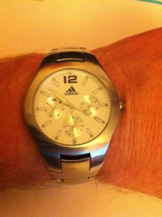 Adidas Chronograph - Armbanduhr Für Herren Bild