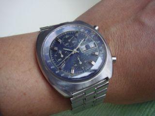 Omega Speedmaster Watch Speedsonic F300 Tuning Fork Chronometer Electronic Bild