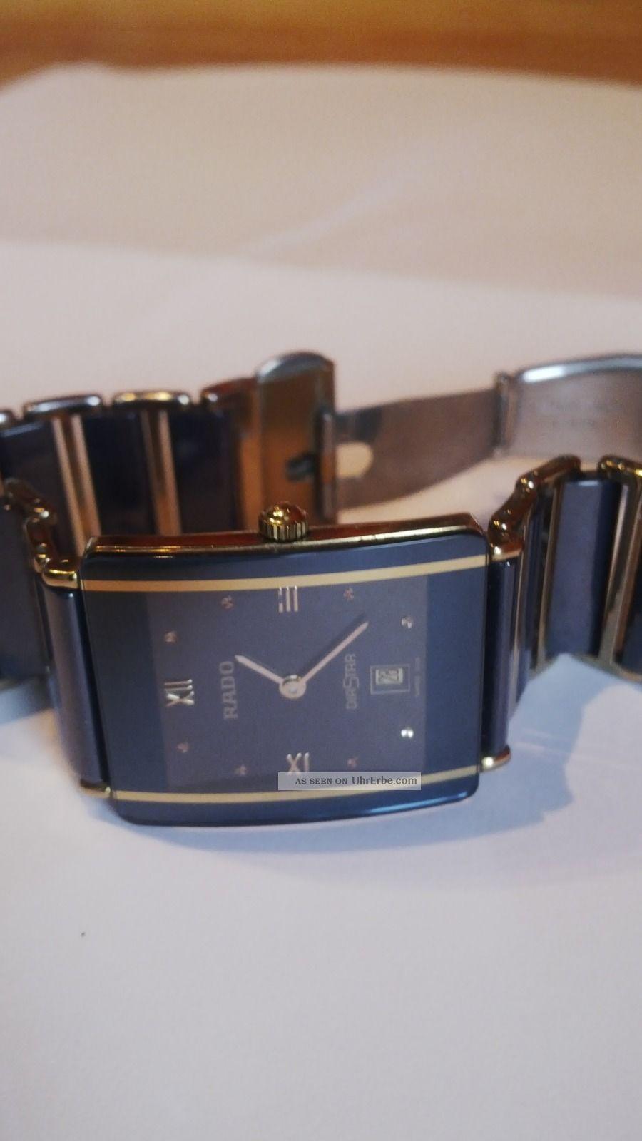 Rado Diastar Unisex Armbanduhr Armbanduhren Bild
