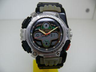 Adec A52116y Ce00 Herren Armbanduhr Watch 1/1000 Chronograph Retro By Citizen Bild