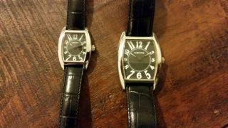 2 Wempe Uhren Damen Und Herren Uhr Sammlerzustand Partneruhr Neuzustand Bild
