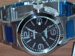 Tw Steel Tw - 300 Uhr Canteen Style Edelstahl Hochwertig Wasserdicht Uvp 299,  - Bild